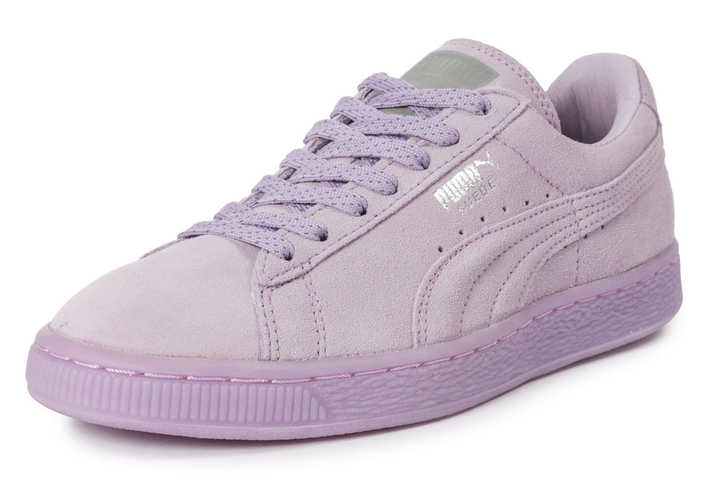 Htxwnaqs Suede Classic Puma Femme Baskets Chaussures Violet Iced Mono sQrthdC
