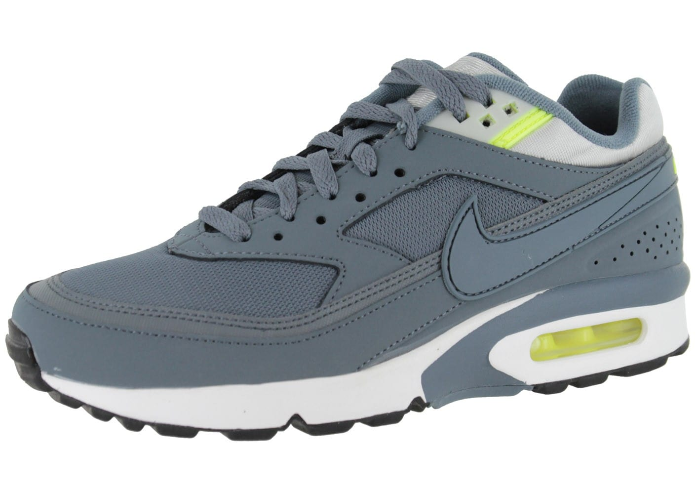 purchase cheap 5bad8 abf5b Cliquez pour zoomer Chaussures Nike Air Max Bw Anthracite vue extérieure ...