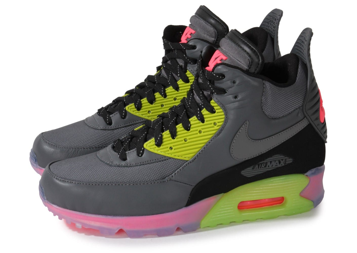 magasin en ligne 20b32 89290 Nike Air Max 90 Sneakerboot Ice - Chaussures Baskets homme ...