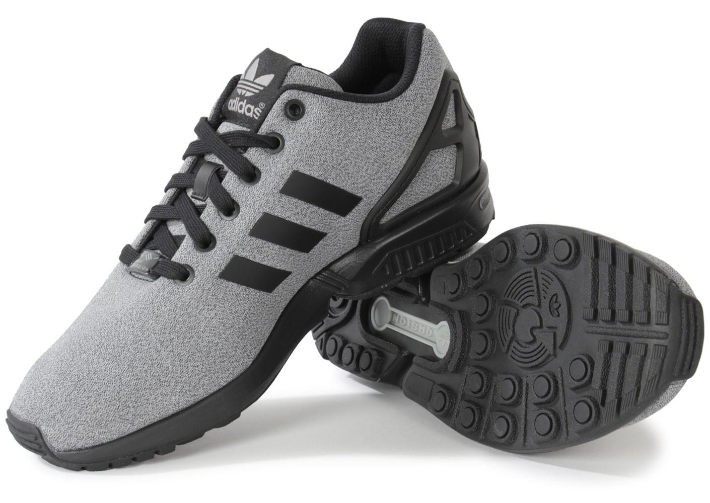 adidas Zx Flux Jersey Gris Chaussures Baskets homme