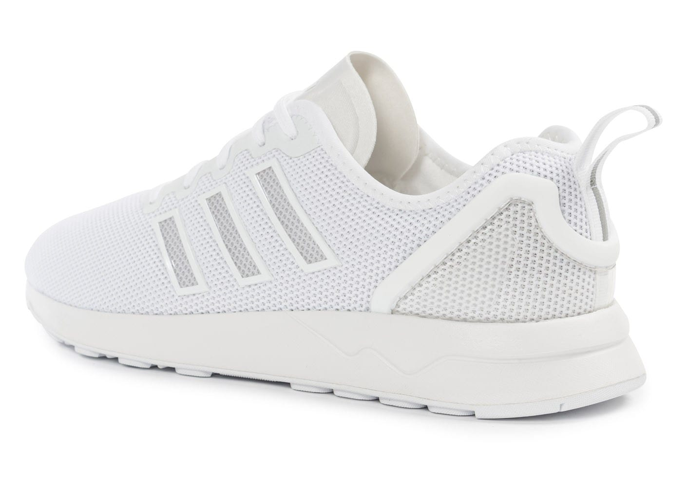 adidas Zx Flux ADV Racer blanche - Chaussures Baskets homme ...