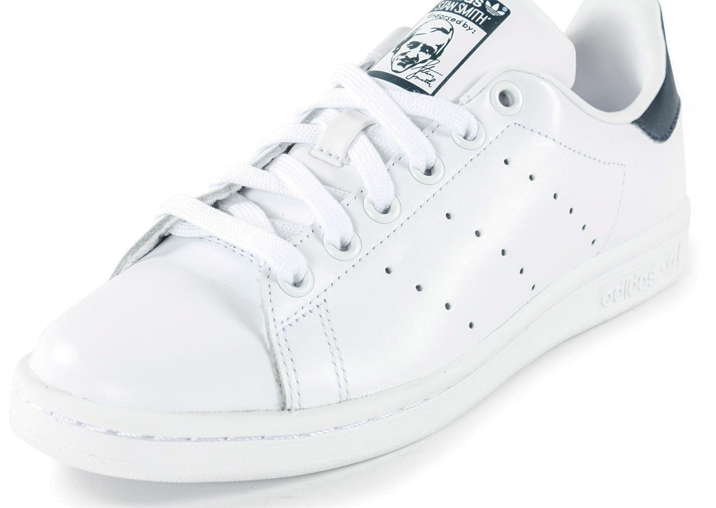 stan smith blanc marine