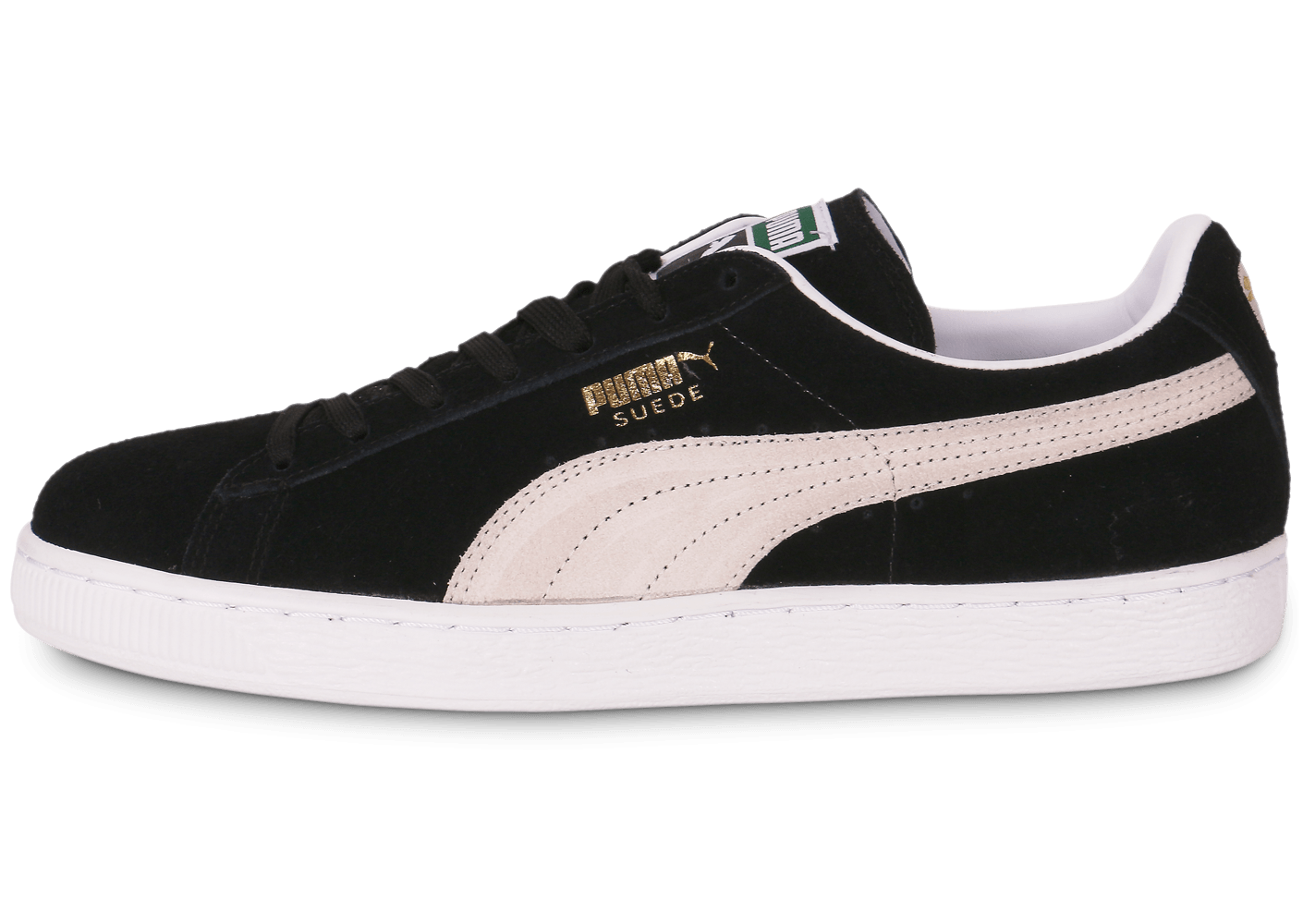 puma suede classic noire chaussures baskets homme. Black Bedroom Furniture Sets. Home Design Ideas