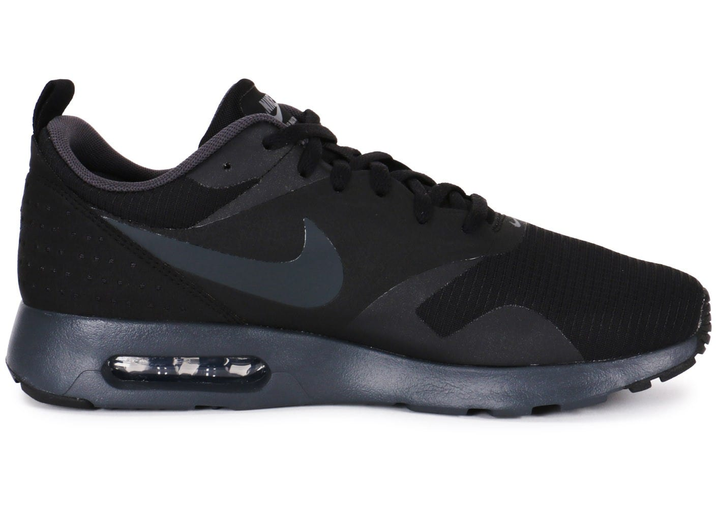 brand new c8546 463bf Nike Air Max Tavas Noire - Chaussures Baskets homme - Chausport