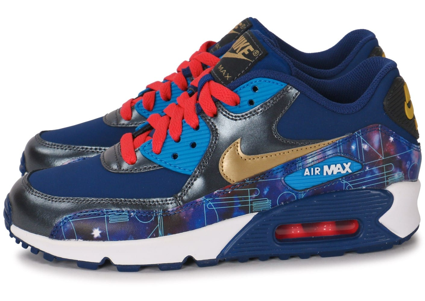 Nike Air Premium Galaxy Max Junior 90 Chaussures Ltr 5j4Lc3ASRq
