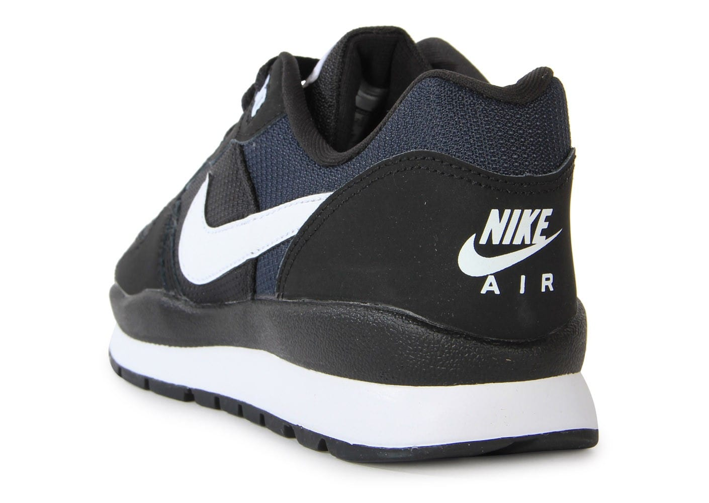 pretty nice f534a 8903c ... Chaussures Nike Windrunner Noire vue arrière ...