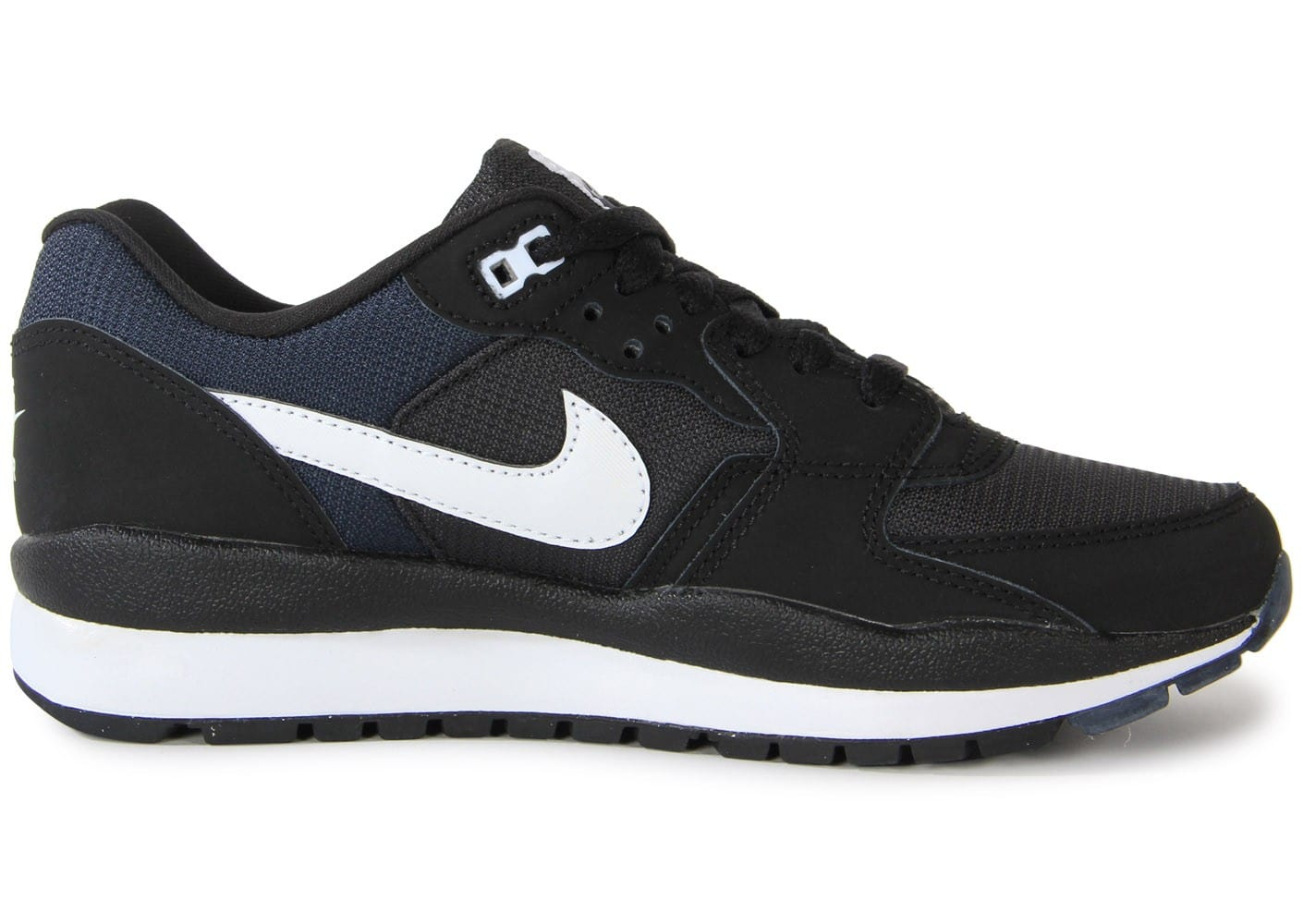 check out 47c57 d34ff ... Chaussures Nike Windrunner Noire vue dessous ...