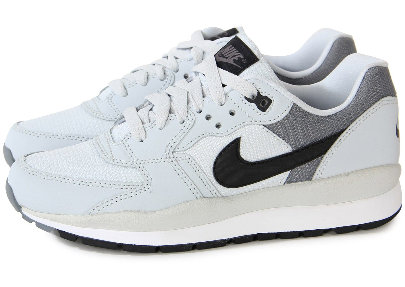 huge discount ad355 a4eaa Cliquez pour zoomer Chaussures Nike Windrunner Grise vue extérieure ...