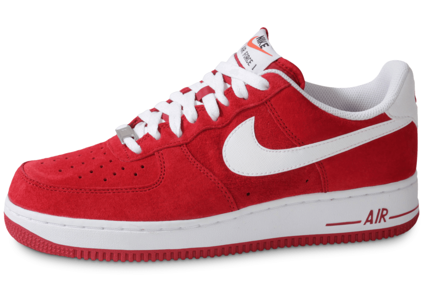 nike air force 1 suede rouge chaussures baskets homme. Black Bedroom Furniture Sets. Home Design Ideas