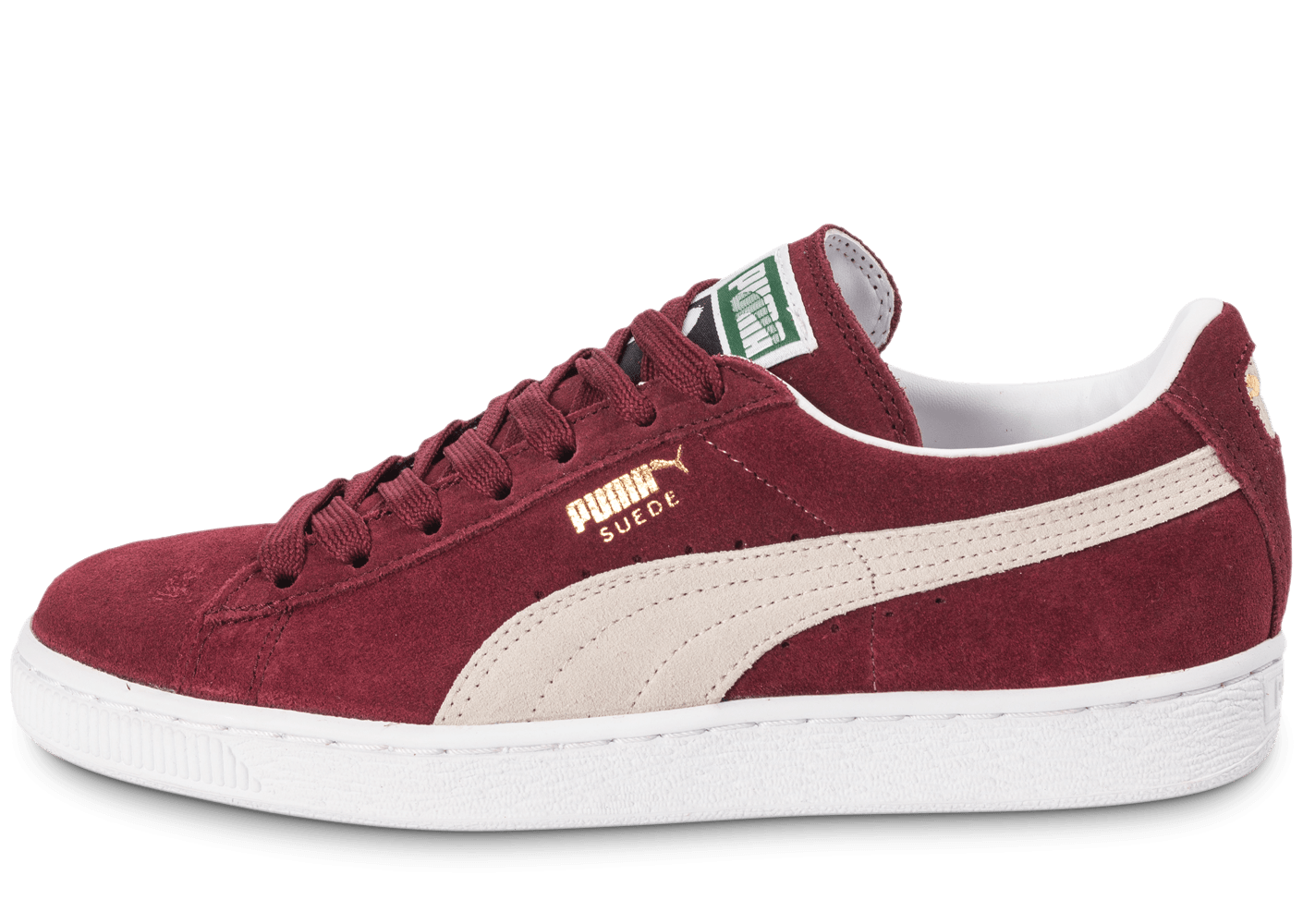 Suede Chaussure Puma Rouge Taille Classic Femme 38 QdthsxrCB
