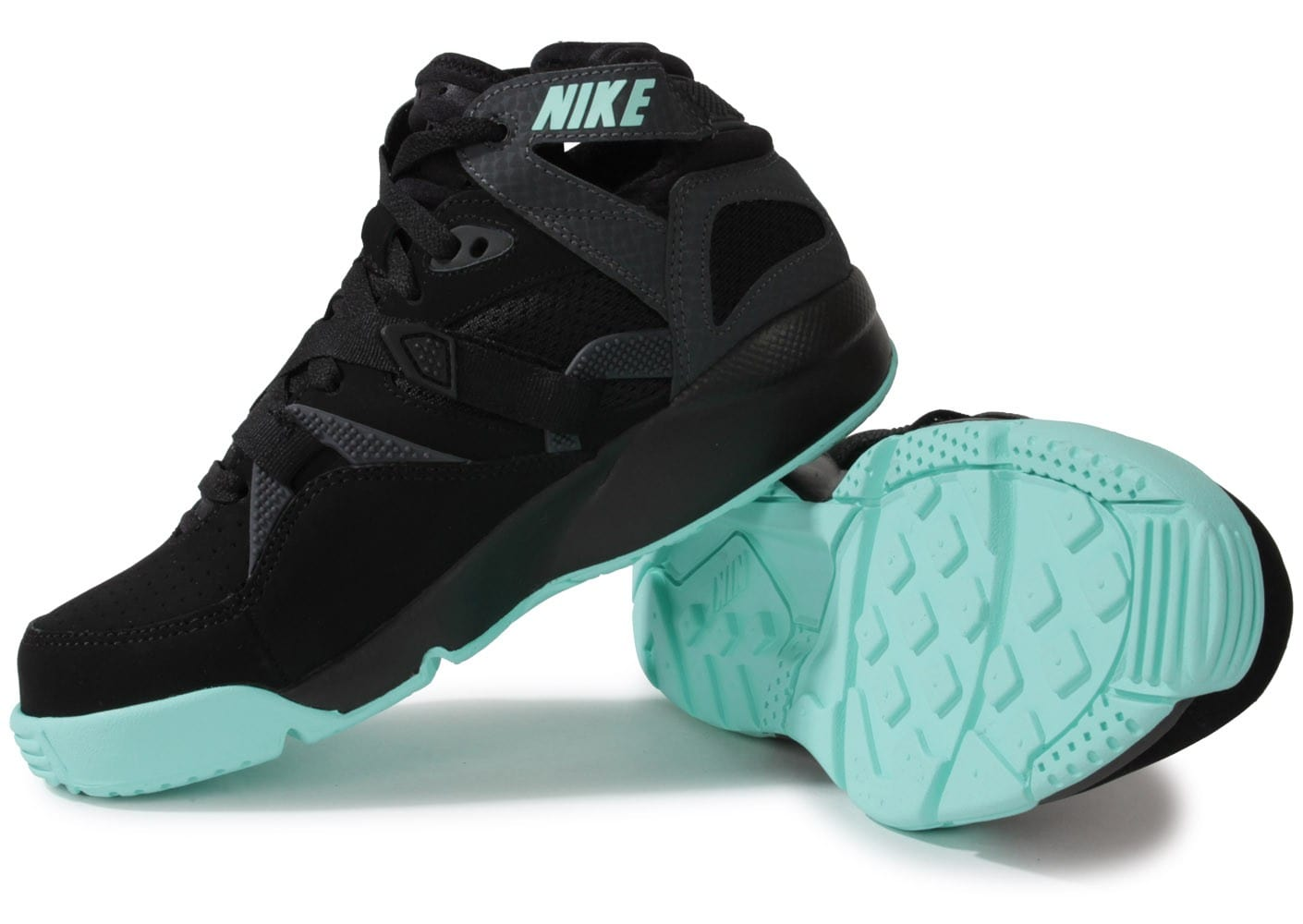 reputable site 6e70b 3d591 ... Chaussures Nike Air Trainer Max 91 Black Turquoise vue intérieure ...