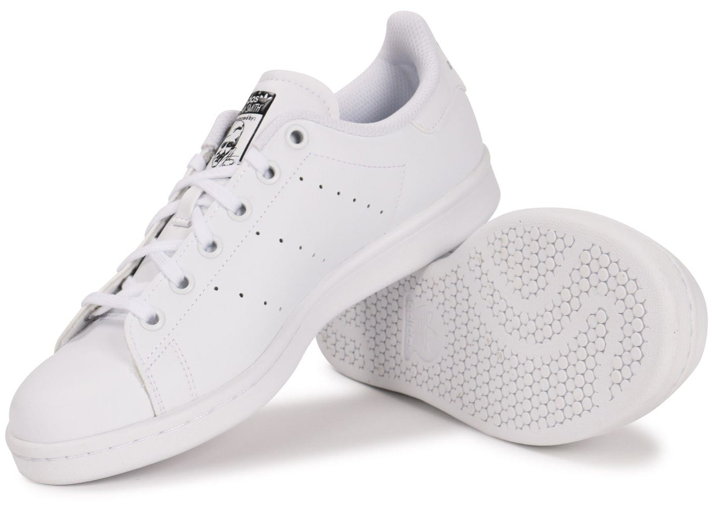 good quality cheap prices new lifestyle adidas Stan Smith Junior Blanche - Chaussures adidas - Chausport