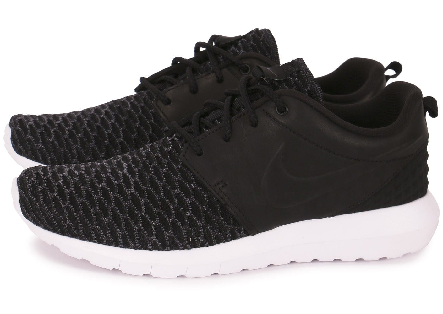 Nike Roshe Nm Flyknit Premium Noire Chaussures Baskets homme