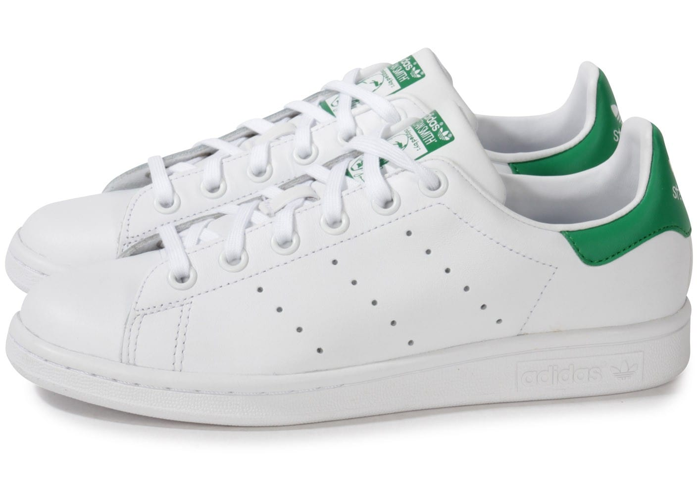 Chaussures Adidas Stan Smith blanches Fashion homme zK4pE