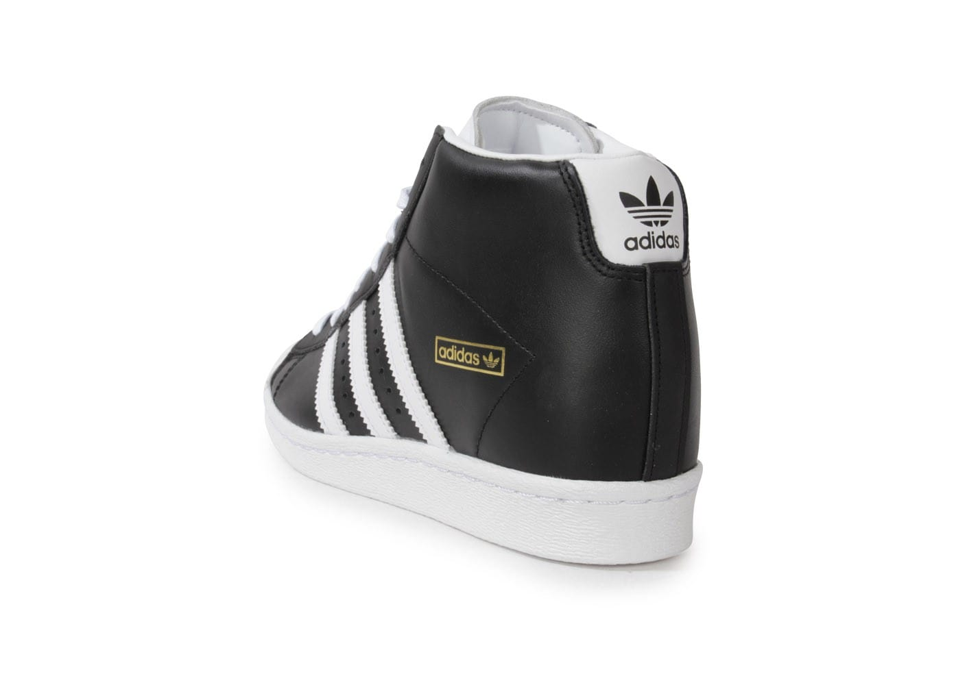 ... Chaussures adidas Superstar Up Compensee Noire vue arrière ...