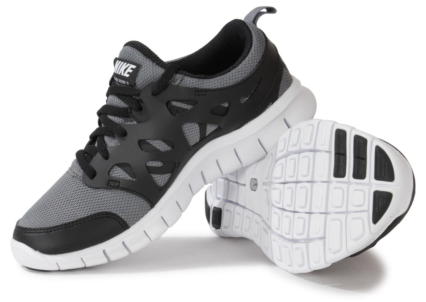 Nike Free Run 2 Junior Grise Chaussures Chaussures Chausport