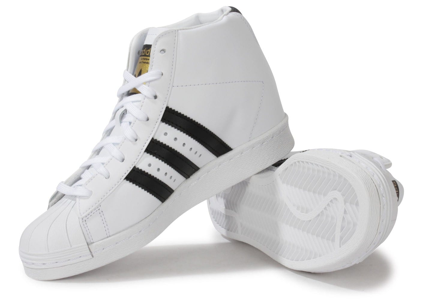 Compensee Blanche Up Chaussures Superstar Chausport Adidas MGUzqVpS
