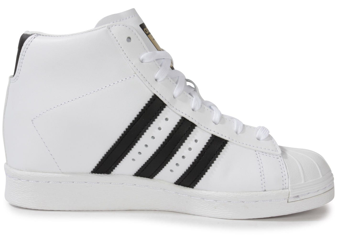 adidas Superstar Up Compensee Blanche - Chaussures adidas ...