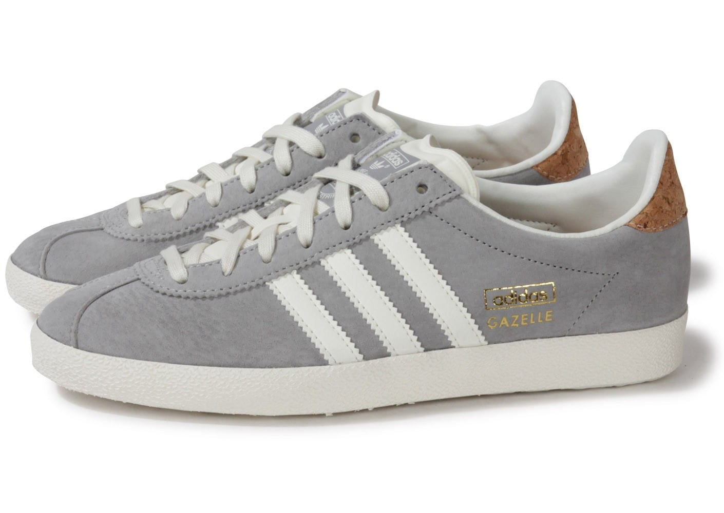 grande vente a0718 ca5be adidas Gazelle Og Grise - Chaussures adidas - Chausport
