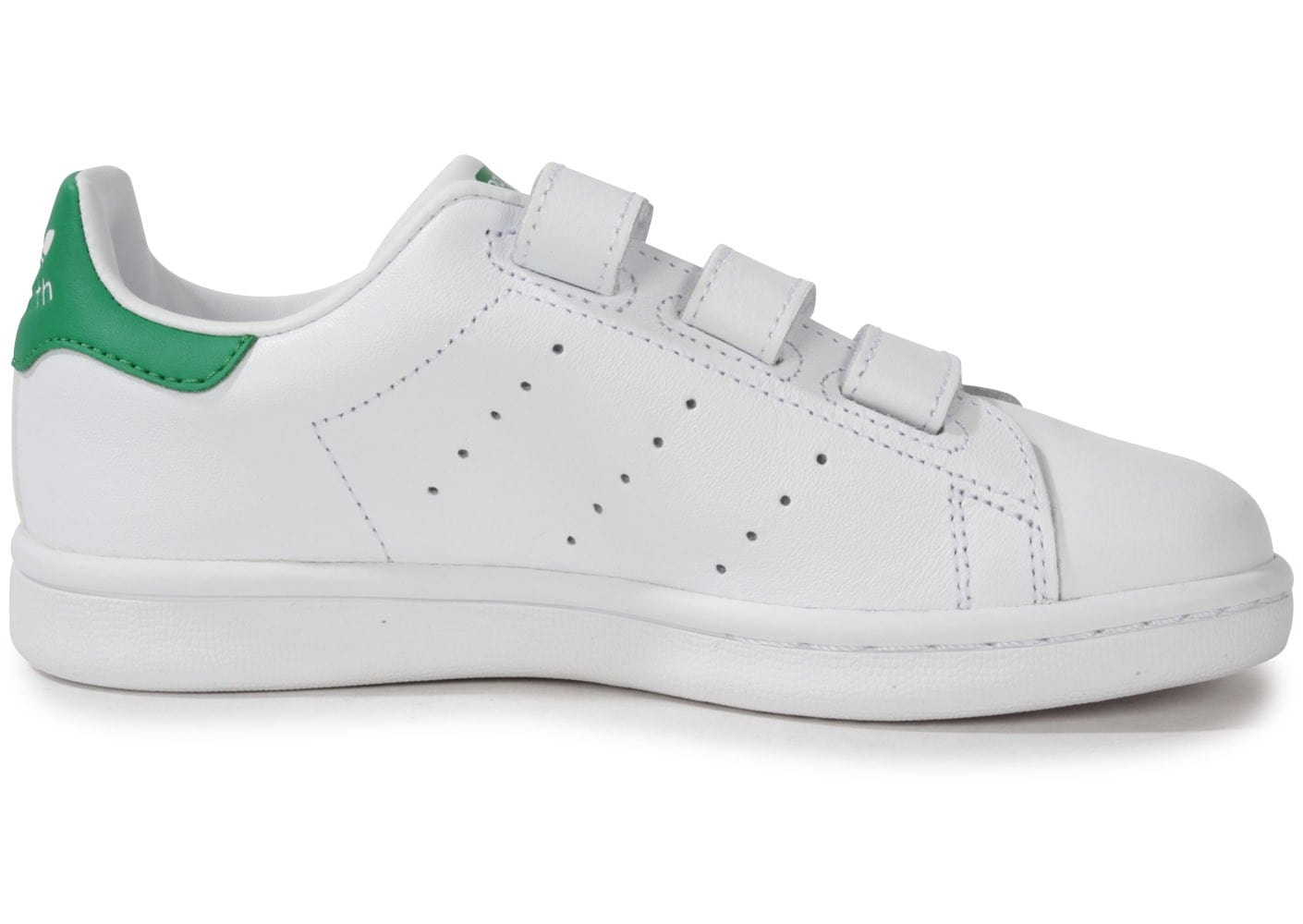 Smith Blanche Scratch Stan Chaussures Adidas Verteamp; Enfant 4Rcq53AjL