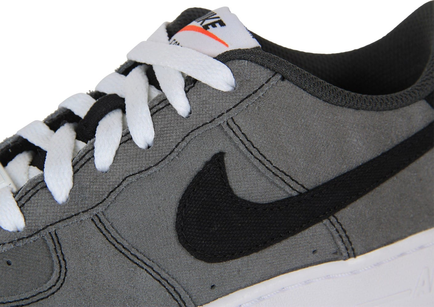 info pour c3057 517ad Nike Air Force 1 Low Grise Gs - Chaussures Chaussures ...