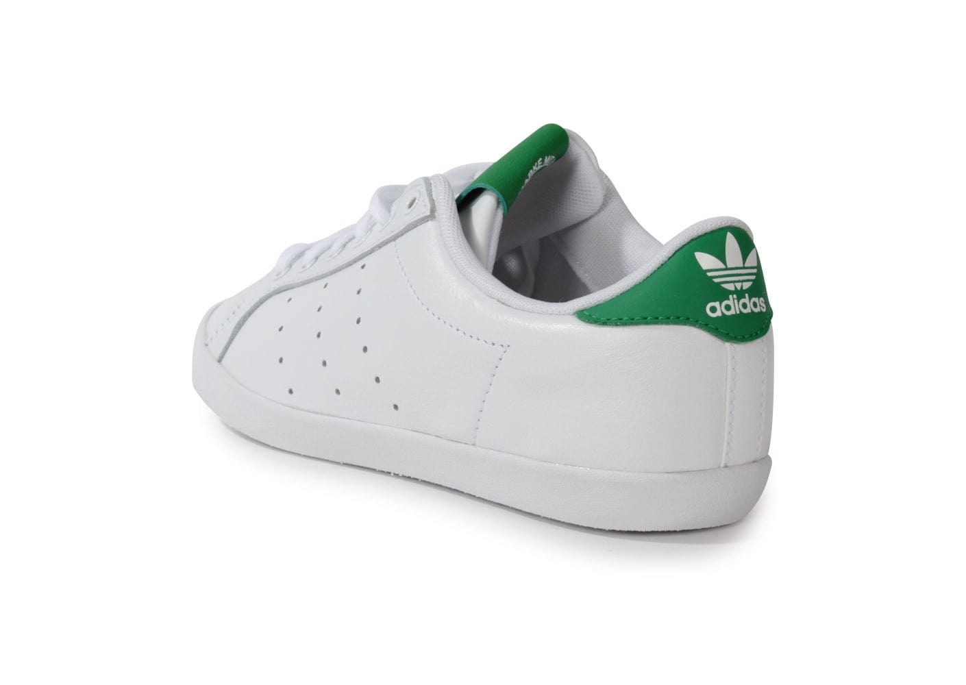 adidas miss stan blanche verte chaussures adidas chausport. Black Bedroom Furniture Sets. Home Design Ideas