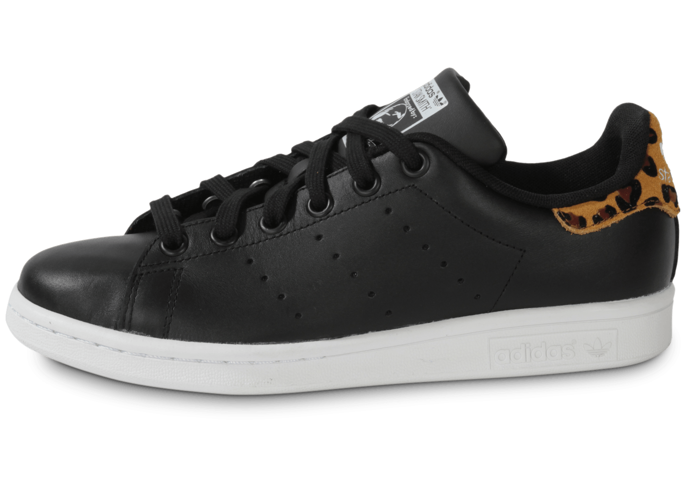 Stan Smith Noire Animal Leopard