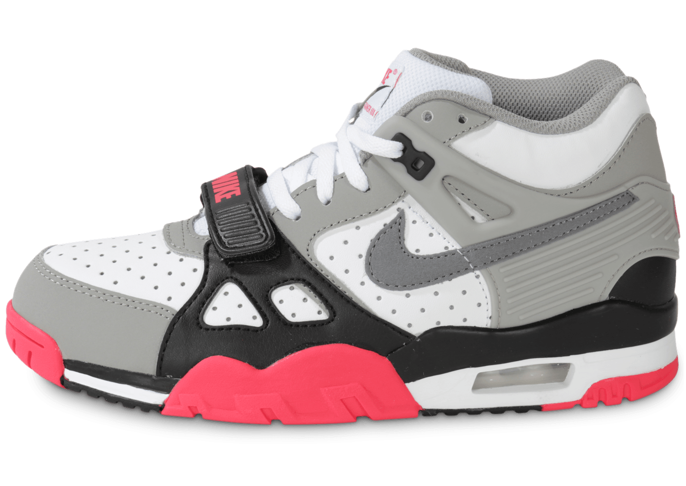 Nike Air Trainer 3 Junior Blanche Et Grise