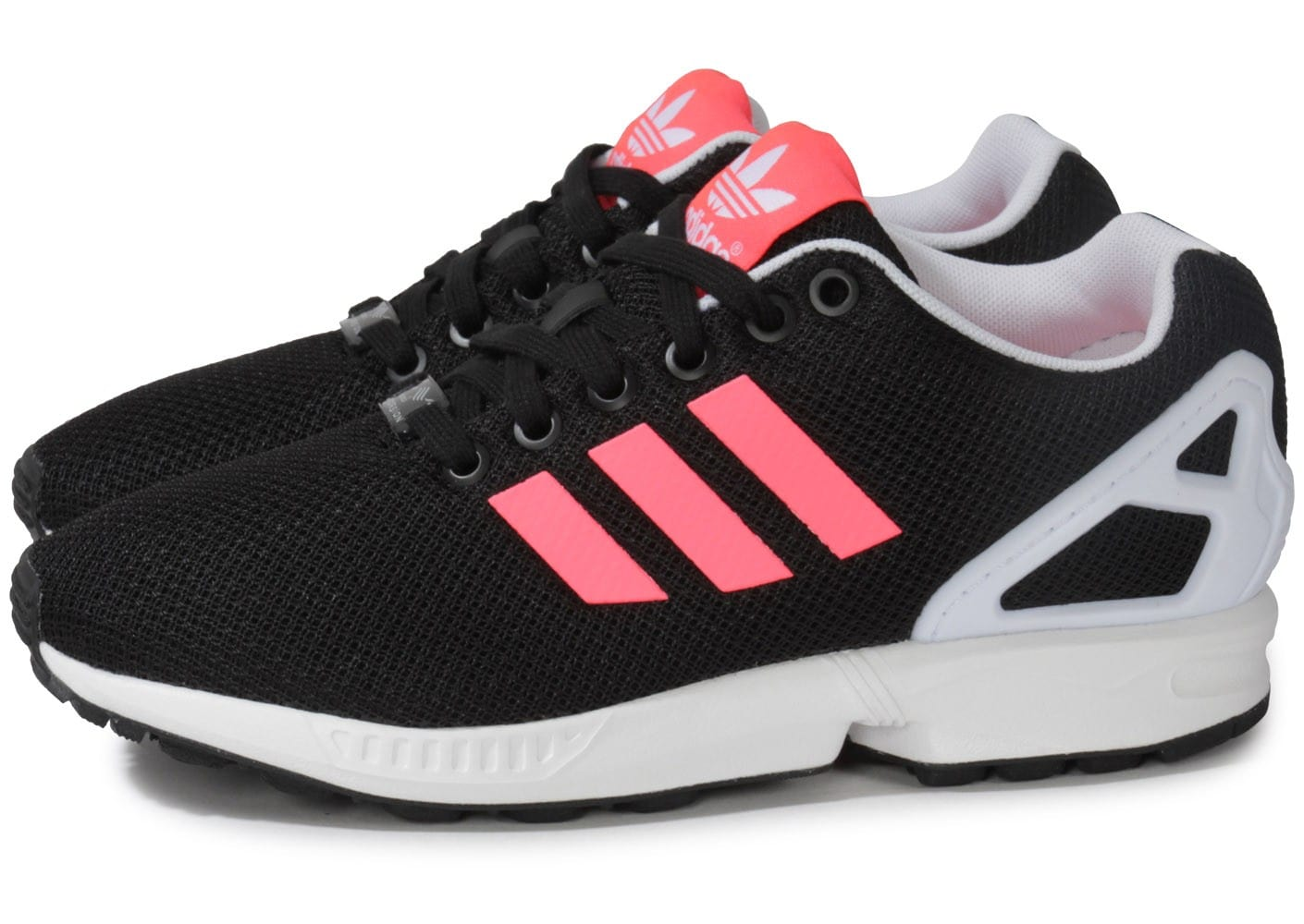 authorized site brand new lowest price adidas Zx Flux Noir Rose - Chaussures adidas - Chausport