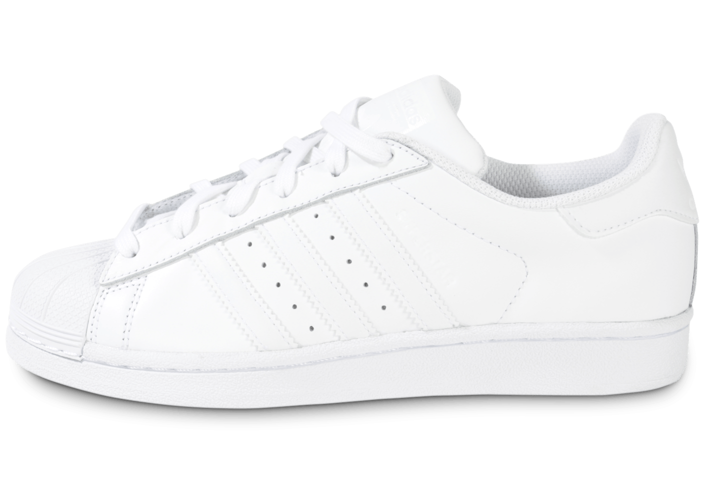 adidas Superstar Foundation junior blanche - Chaussures adidas - Chausport