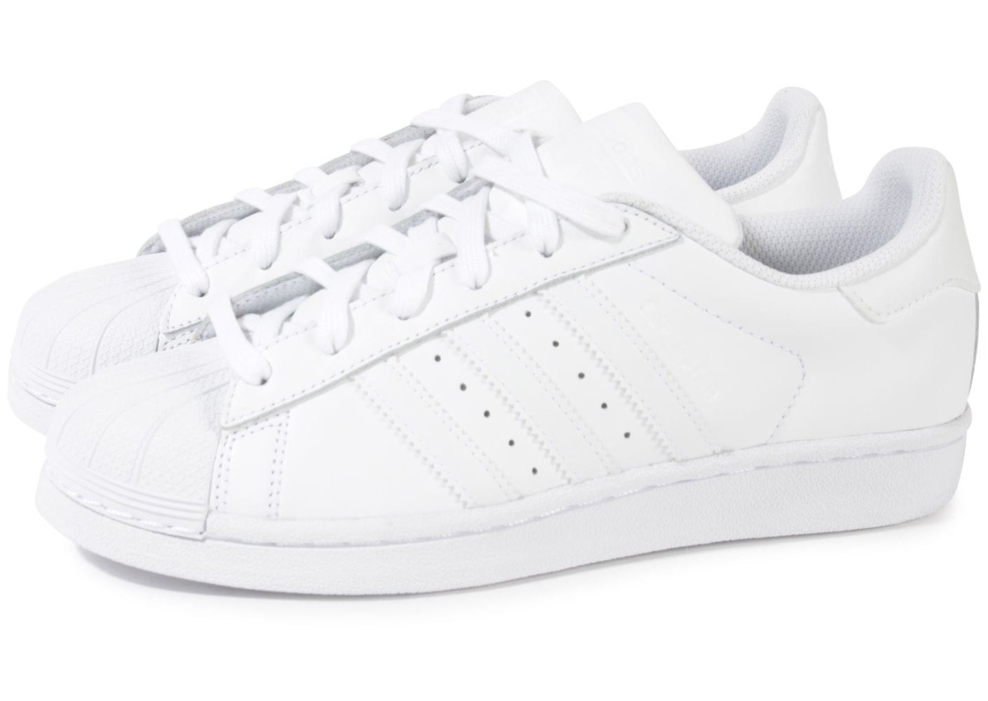superstars adidas blanche