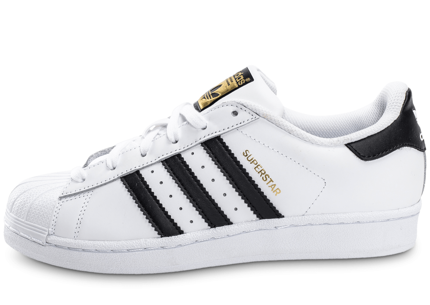 adidas junior Chaussures blanc Superstar Foundation adidas noir 6w06fRZq