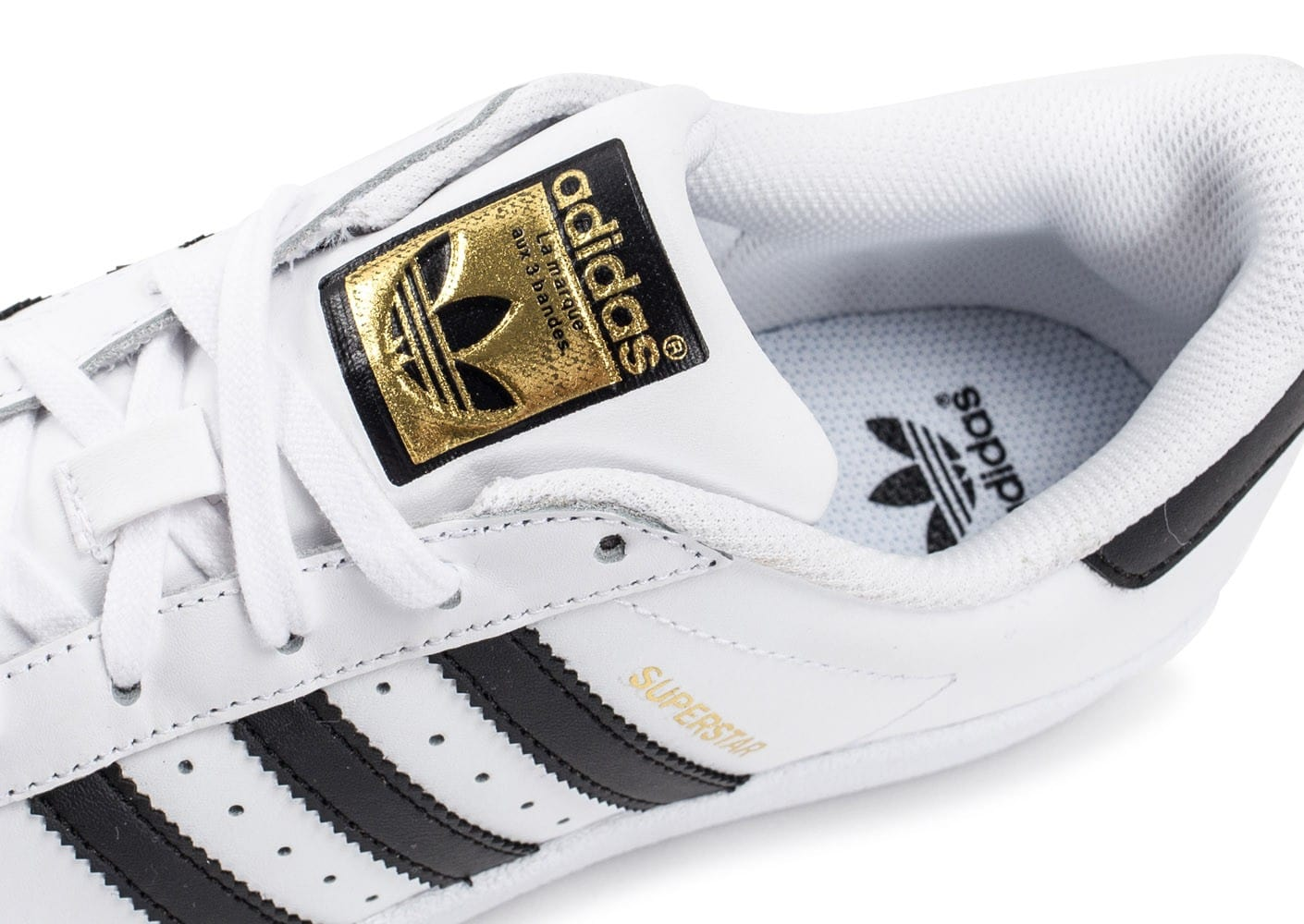 adidas Superstar Foundation junior blanc noir - Chaussures ...