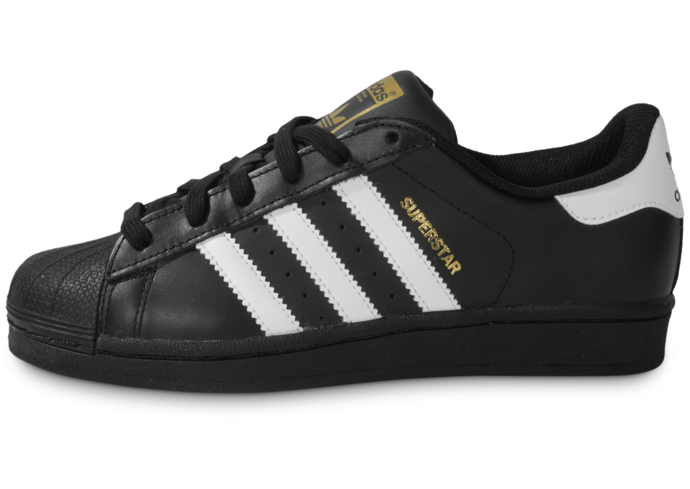 Adidas Chaussures Foundation Junior Chausport Noire Superstar SrUqS