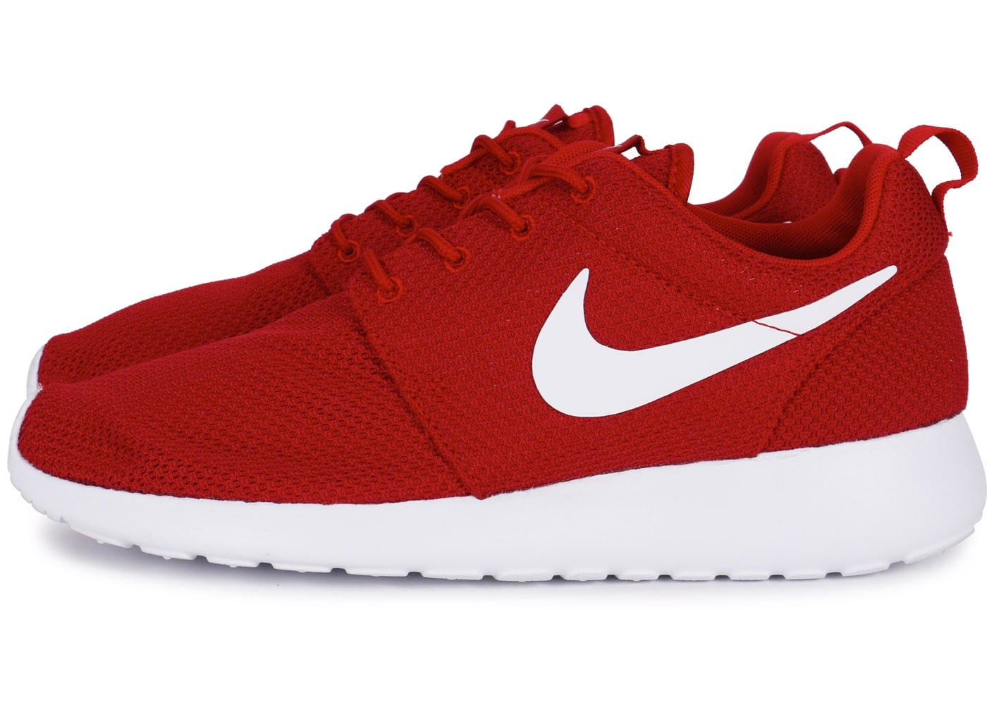 One Et Chausport Chaussures Nike Homme Baskets Roshe Blanc Rouge 5qFtf