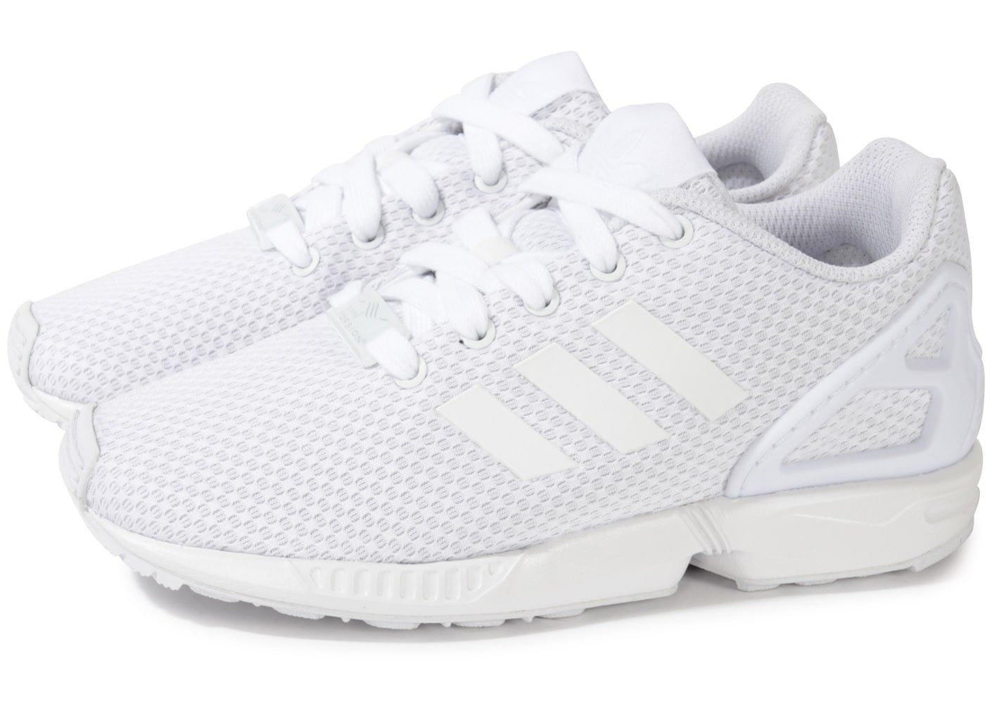 Chaussures Adidas ZX Flux blanches 10lixtoYZv