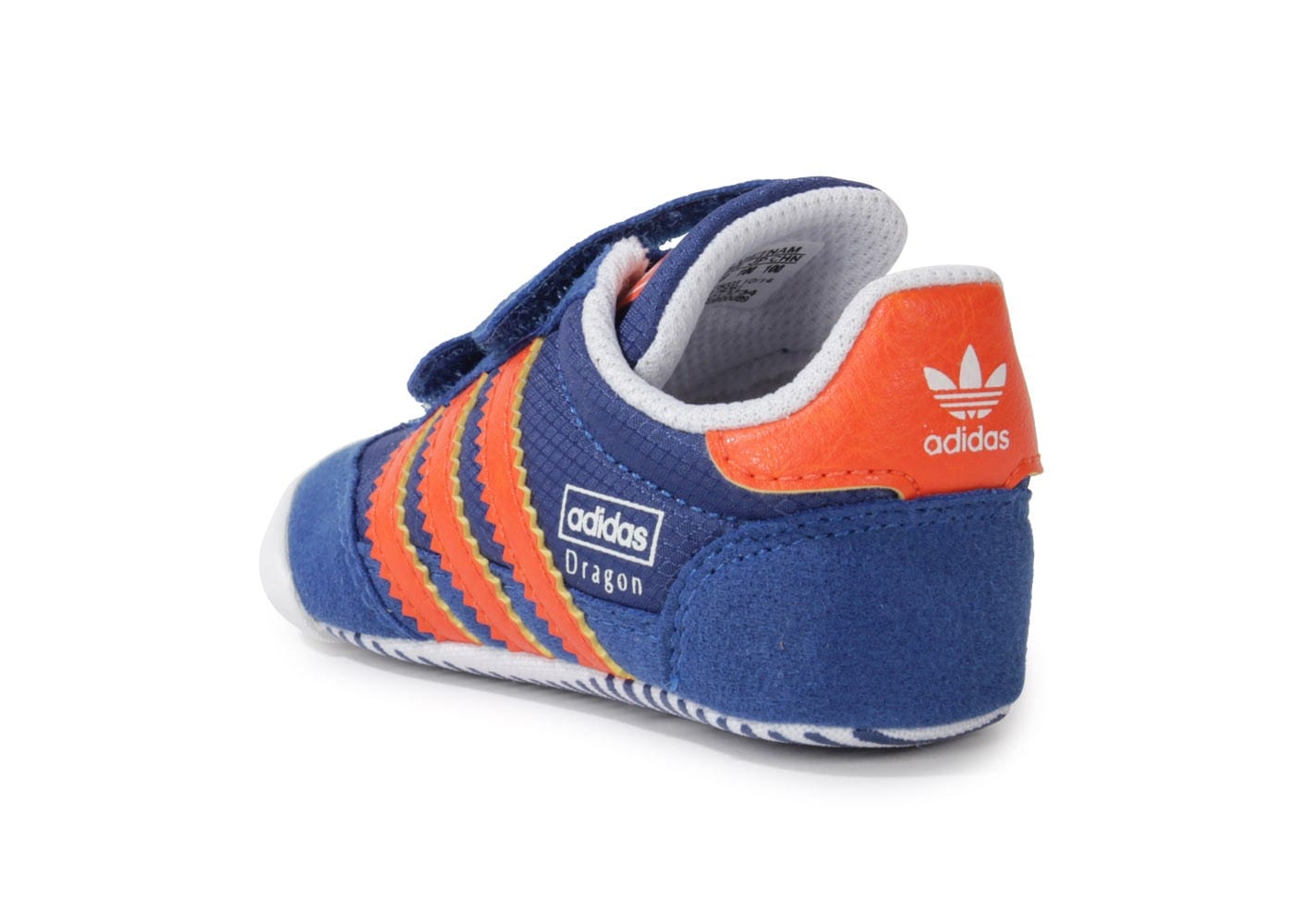 adidas dragon bleu orange