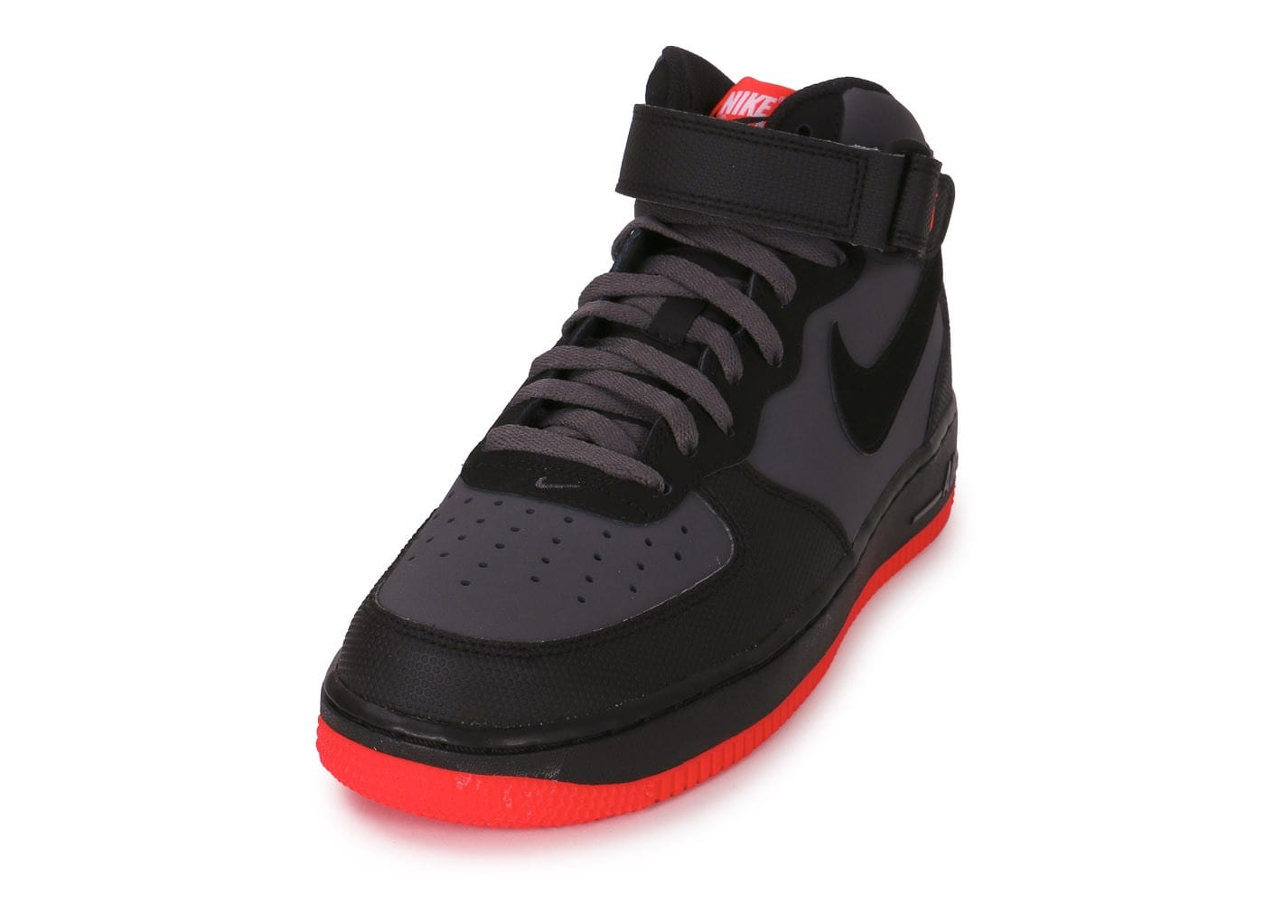 Nike Grise Chausport Baskets Force 1 07 Air Mid Chaussures Homme vnmN80w
