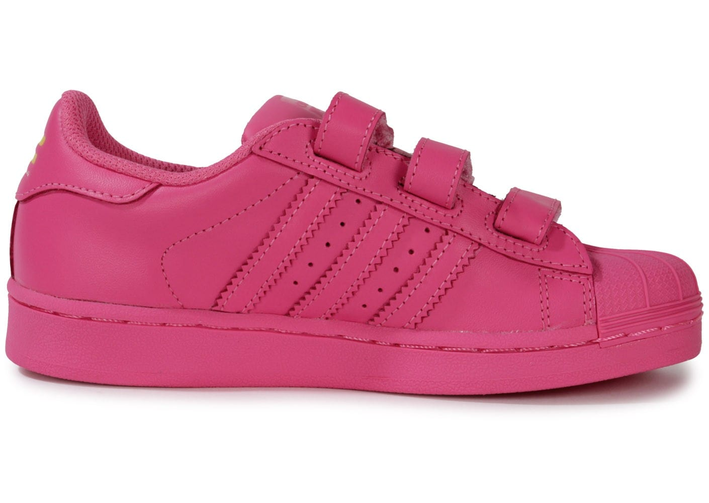 4124e734a713a adidas Superstar Supercolor Rose Enfant - Chaussures adidas - Chausport