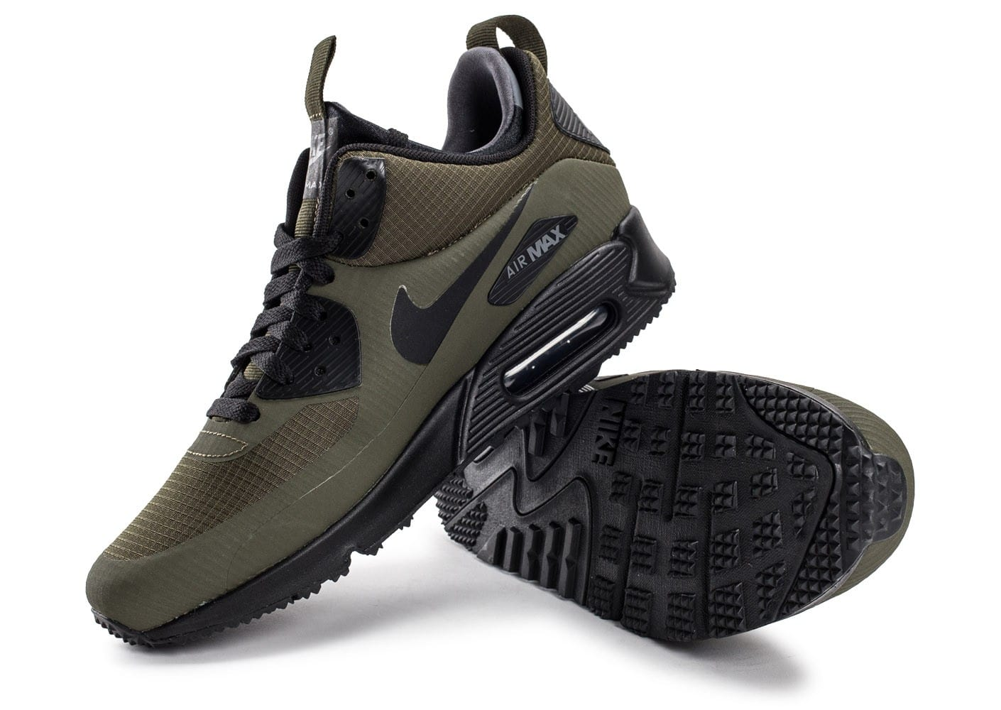 new arrival e9ed2 fa4c2 ... Chaussures Nike Air Max 90 Mid Winter Green vue intérieure ...
