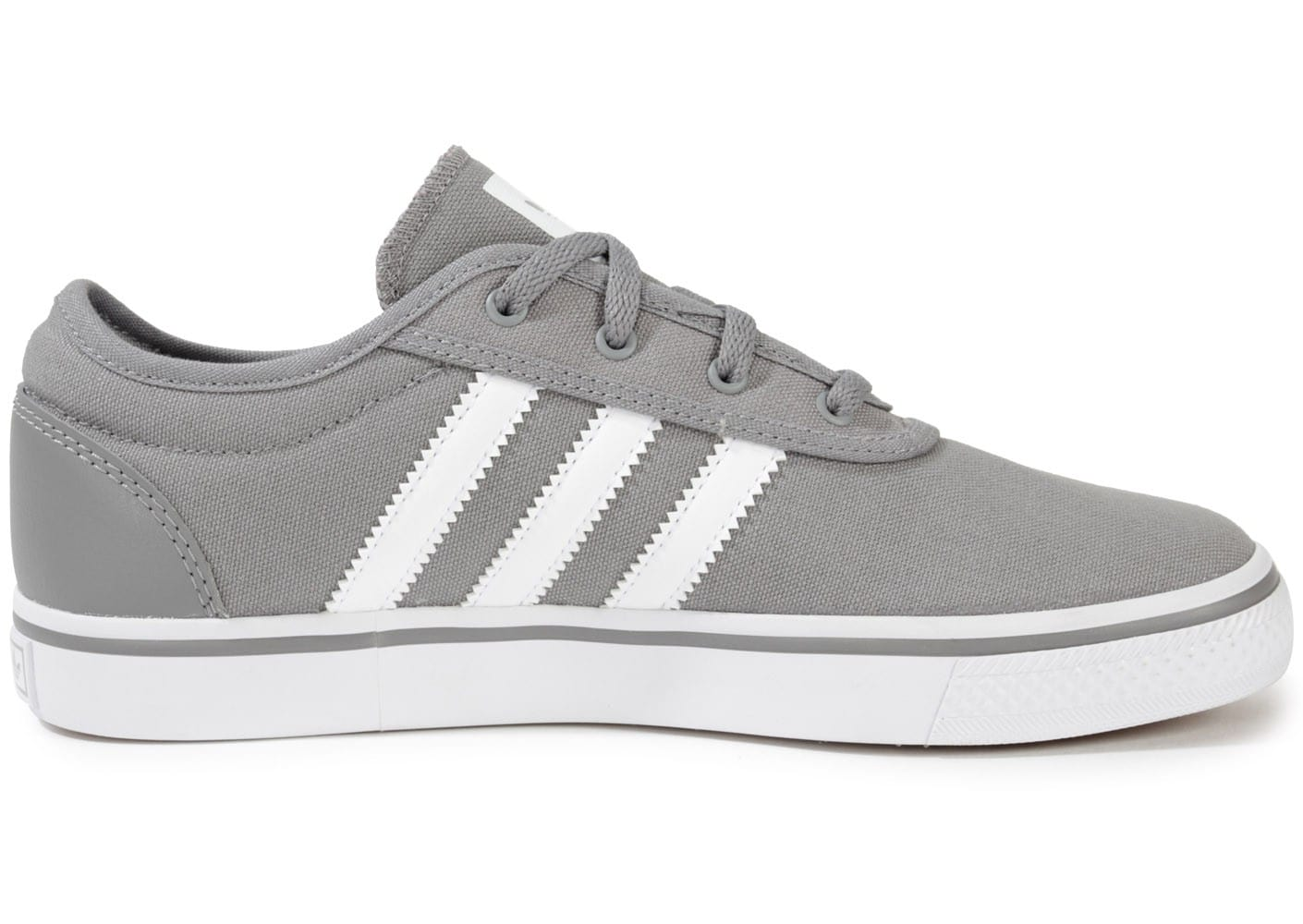 ... Chaussures adidas Adi Ease Toile Junior Grise vue dessous ...