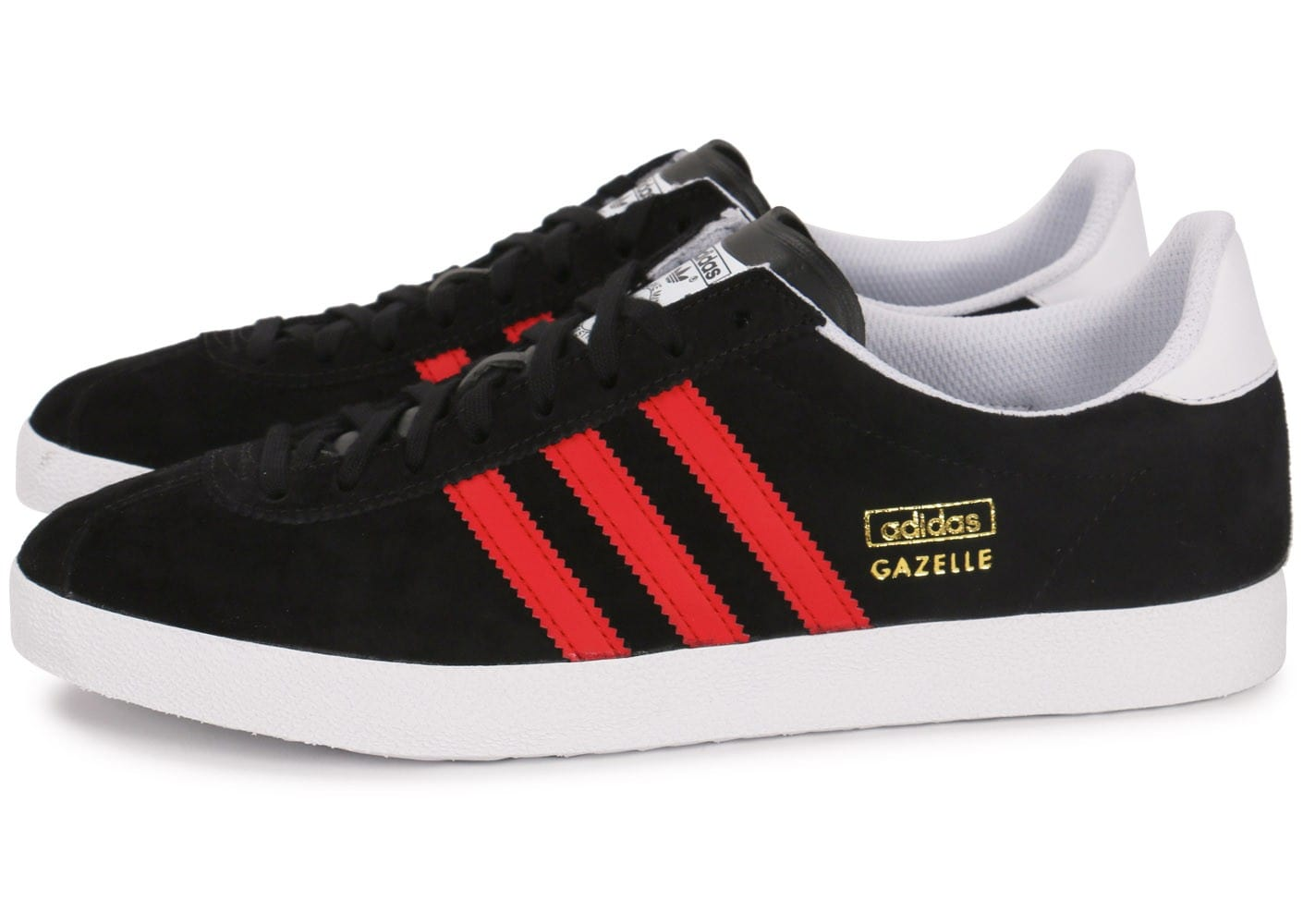 Gazelle Et Chaussures Og Rouge Baskets Homme Chausport Adidas Noire y0wO8mNnv