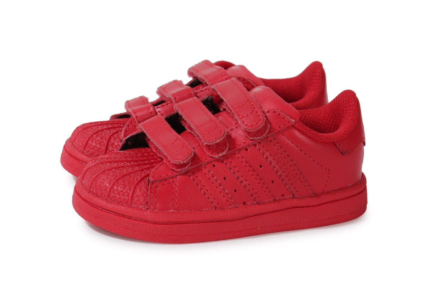 adidas superstar enfant rouge