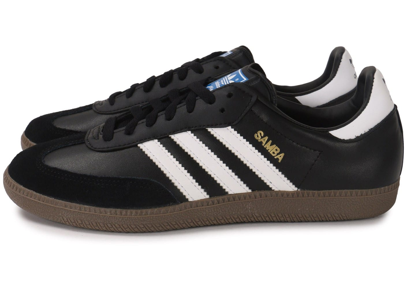 official site offer discounts coupon codes adidas Samba Noire - Chaussures Baskets homme - Chausport