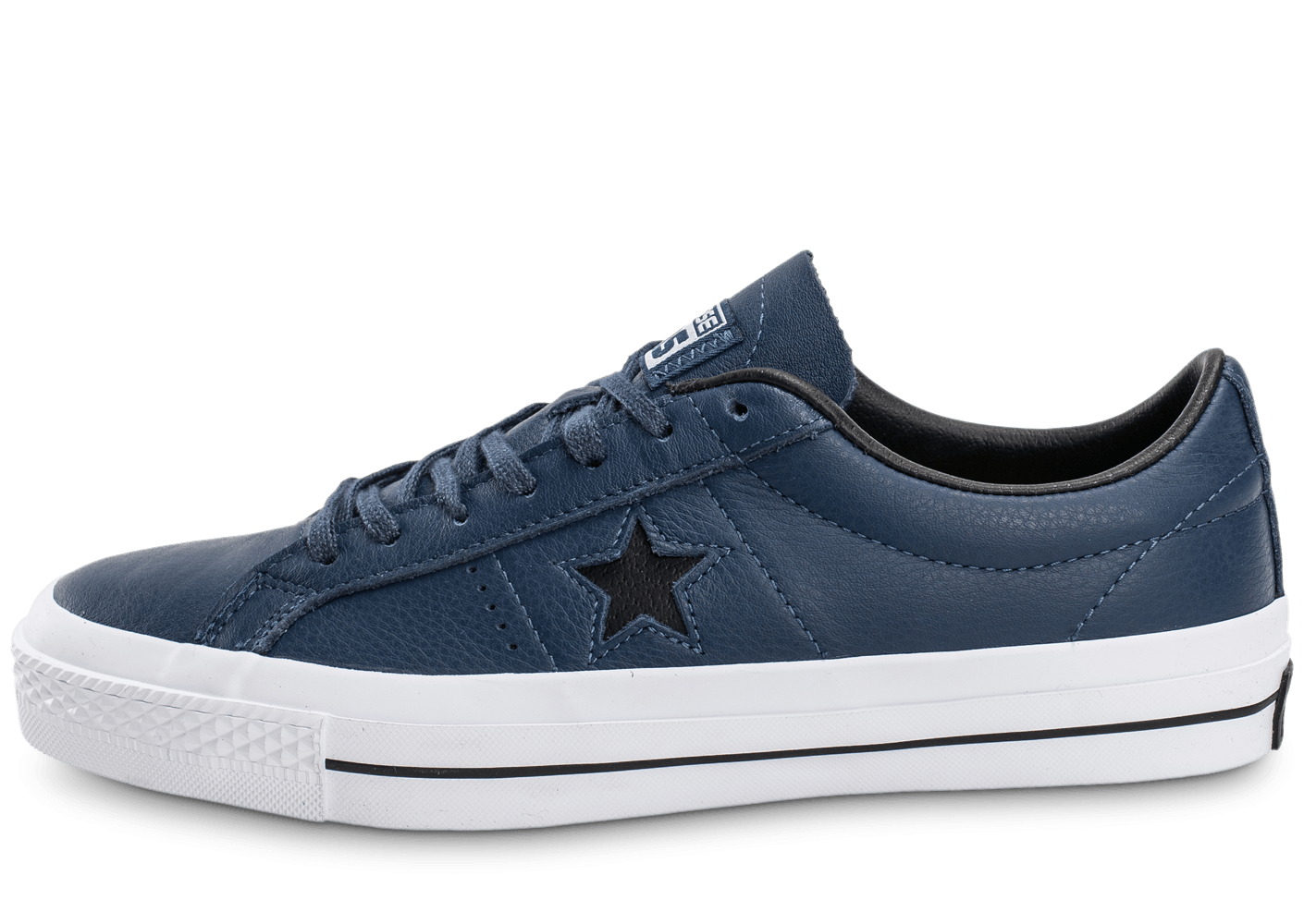 Converse One Star Leather bleu marine
