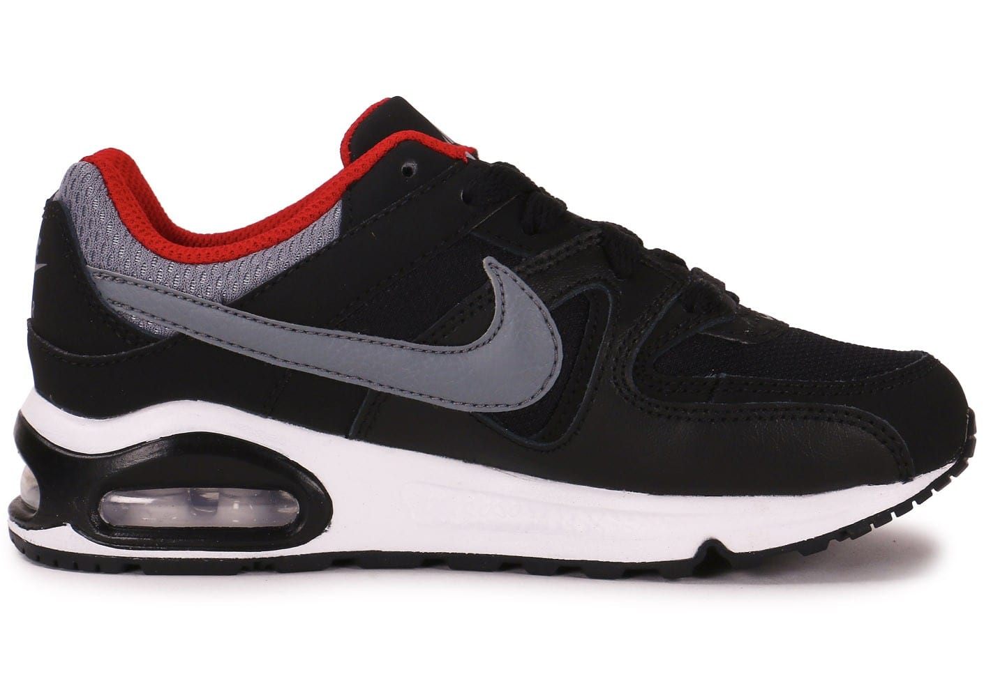 nike air max command enfant noire grise et rouge chaussures chaussures chausport. Black Bedroom Furniture Sets. Home Design Ideas