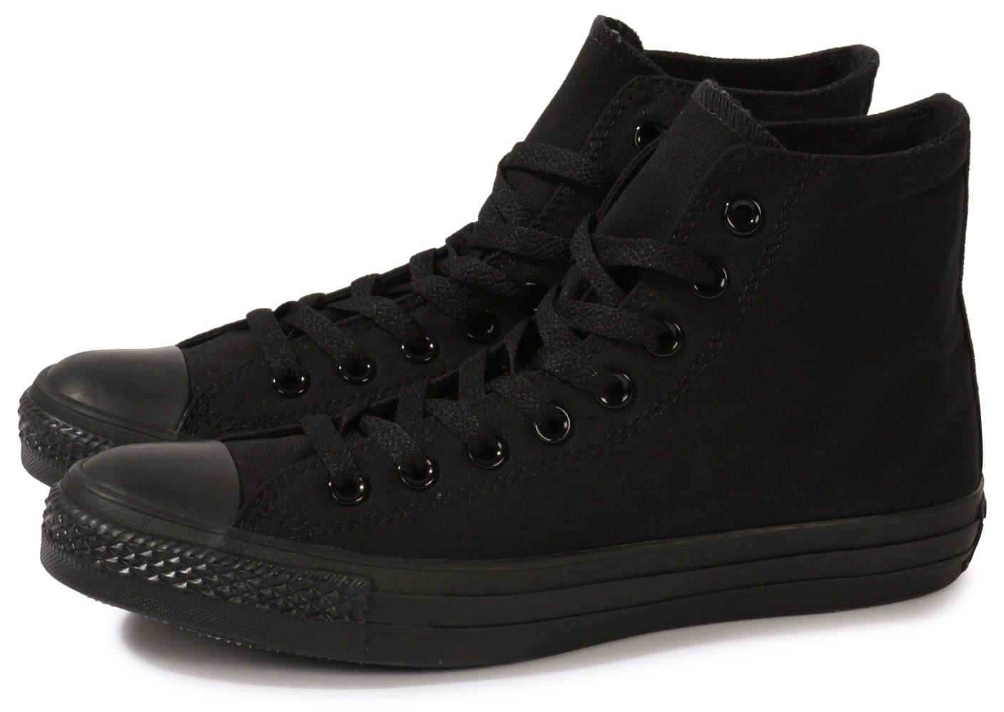 Converse Chuck Taylor All-star Hi Noire - Chaussures Baskets ...