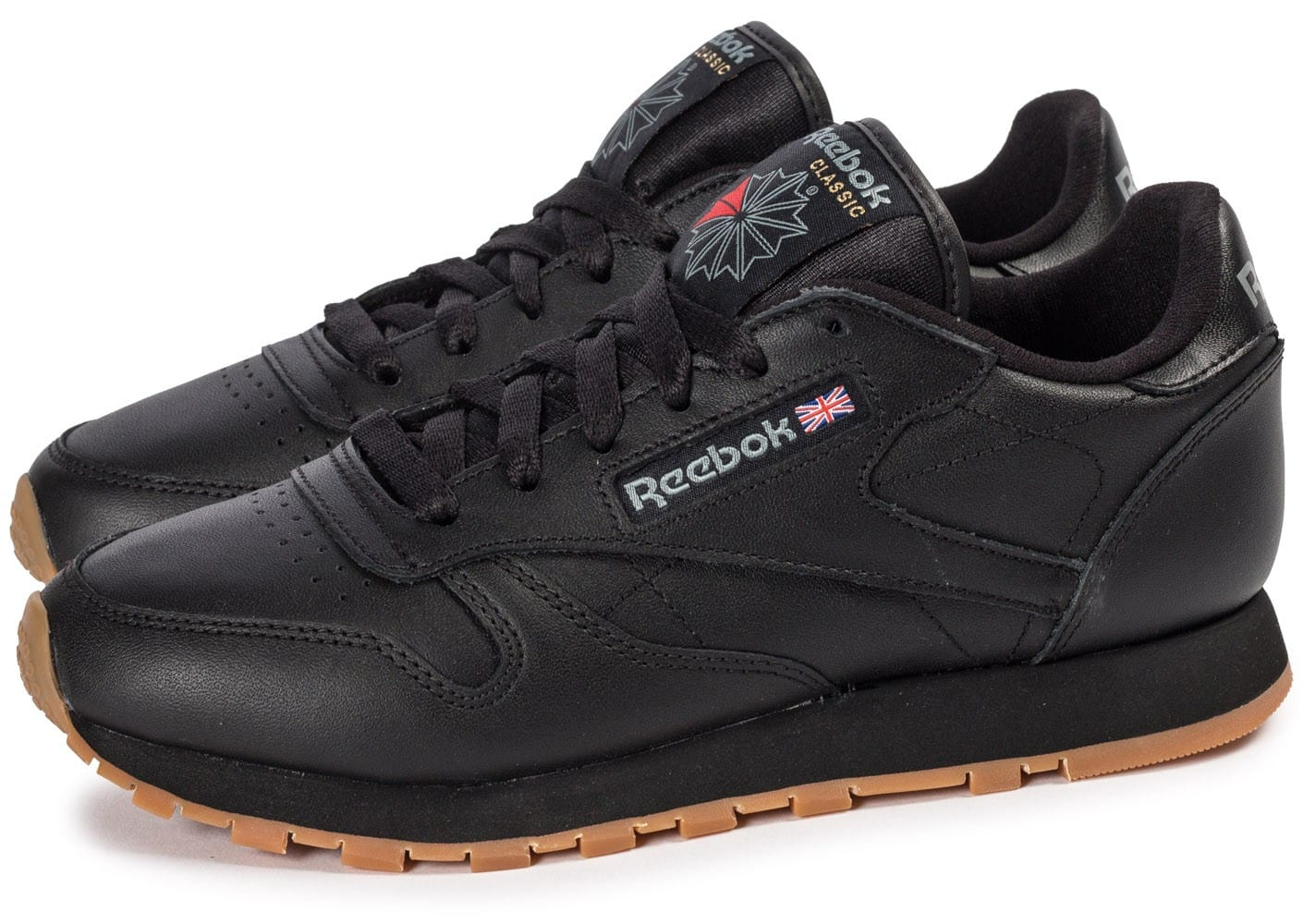 Baskets Gum Chausport Femme Noire Reebok Classic Leather Chaussures XpfqWUwS 9c70f612352b