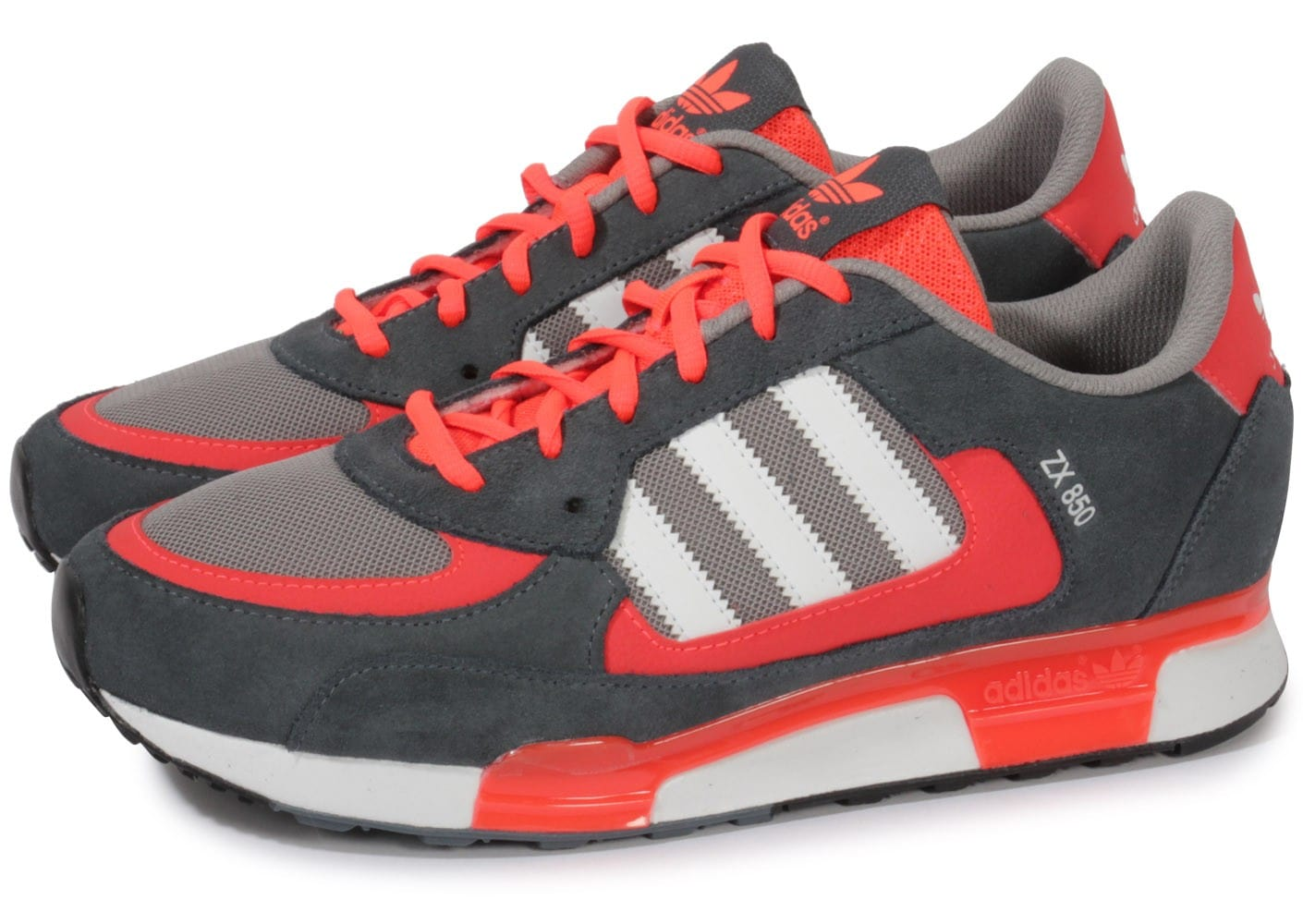 adidas Zx 850 Grise Chaussures Baskets homme Chausport