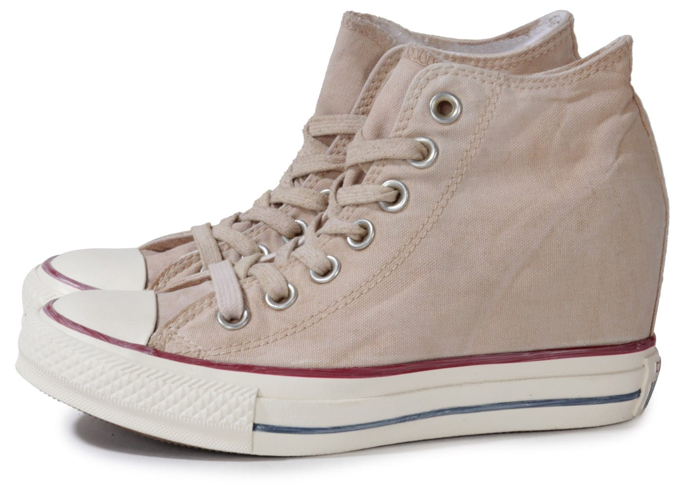Converse Chuck Taylor All star Mid Lux Beige Chaussures